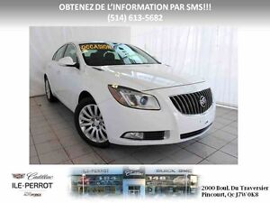 "2012 BUICK REGAL 2.0L TURBO, MAGS 18"", DEM,"