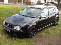 VW Golf 1.4 SE, 2002, GTI extras, long MOT