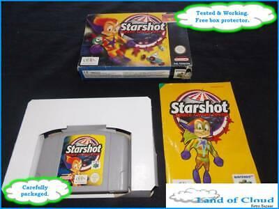 Starshot Space Circus Fever N64 Nintendo 64 game PAL UK - FAST & SAFE POST