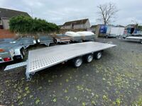 BRAND NEW MODEL TRI-AXLE 5 M X 2.1 M CAR TRANSPORTER TRAILER 3500KG MAM