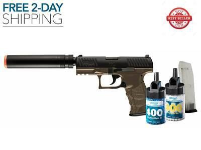 AIRSOFT GUN PISTOL BB KIT SPRING COMPENSATOR 6mm Walther PPQ NEW FREE 2 DAY Airsoft Bb Airsoft Gun