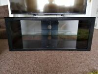 Black Glass Tv Cabinet/Stand