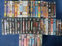 Wrestling VHS Videos WWF WWE ECW WCW x 60