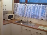 Large one bed room flat available. Near university, golf links ans sports village.