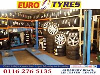 CHEAP PART WORN & NEW TYRES., MICH.CONT.BUDGET, 68 BARKBY RD LEICESTER 01162765135