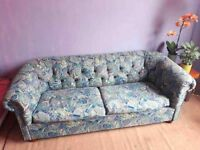 60s/70s Chesterfield Sofa bed