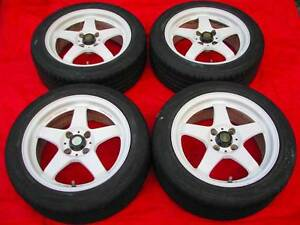 Mazdaspeed MS-01S wheels 15x6.5 +35 4x100 JDM Rays Enkei Volk SSR Kalorama Yarra Ranges Preview