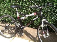 Rock rider 6.0 dual suspension adults mountain bike
