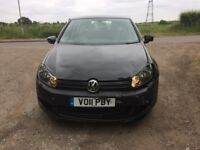 2011 Volkswagen Golf Damaged