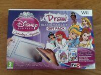 wii udraw gametablet gift pack disney princess