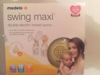 Medela Swing Maxi DOUBLE breast pump used for less than a week