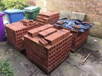 Bricks 210mm x 100 mm red bricks new