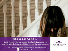 Need to Sell Quickly? Wanted 3+ bedroom houses in South Manchester
