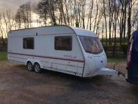 2004 Coachman Amara 580 4 Berth caravan TWIN AXLE VGC Awning Bargain !