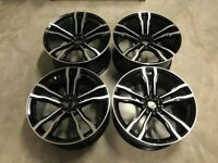 22″ Inch Staggered X5 X6 612M Style Alloy Wheels 5x120 F15 F16 E53 E70 E71 F85 F86 74.1