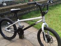 X-rated snare bmx stunt bike front disc brakes