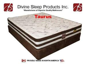 Queen Size Hard Firm Mattress - High Density Hard Foam Real Orthopedic Pillow Top Mattress On Sale (MAT25)