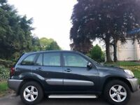 TOYOTA RAV4 AUTOMATIC, 05 REG, 100K MILES, HPI CLEAR, 1 PREV OWNER, DELIVERY AVAILABLE, LONG MOT