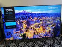 """50"""" Samsung UE50TU7100 4K HDR Crystal Smart LED TV"""
