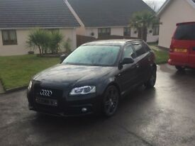 Audi A3 Sportback Black Edition Quattro