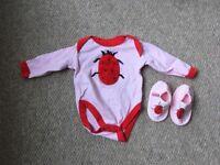 Designer baby clothes 6-9 months