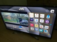 """JVC 49"""" smart 4k Ultra WiFi freeview with a line on screen"""