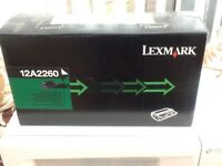 Lexmark 12A2260 cartridge.