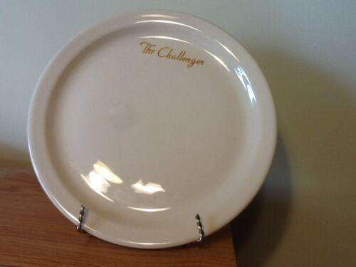 "Union Pacific railroad 9"" plate. Challenger"