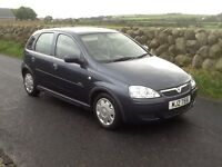 Lovely 2006 Vauxhall corsa 1.2 petrol,only 48000 miles