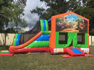 Tinker Bell Mega Combo Jumping Castle $249 Full Day Hire Mount Cotton Redland Area Preview
