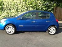 RENAULT CLIO MANUAL **HPI CLEAR **FULL SRVICE **2 KEY **LONG 1 YEAR MOT