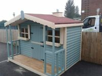 XMAS PLAYHOUSES - ORDER NOW FOR THE CLOSEST DELIVERY DATES TO XMAS.