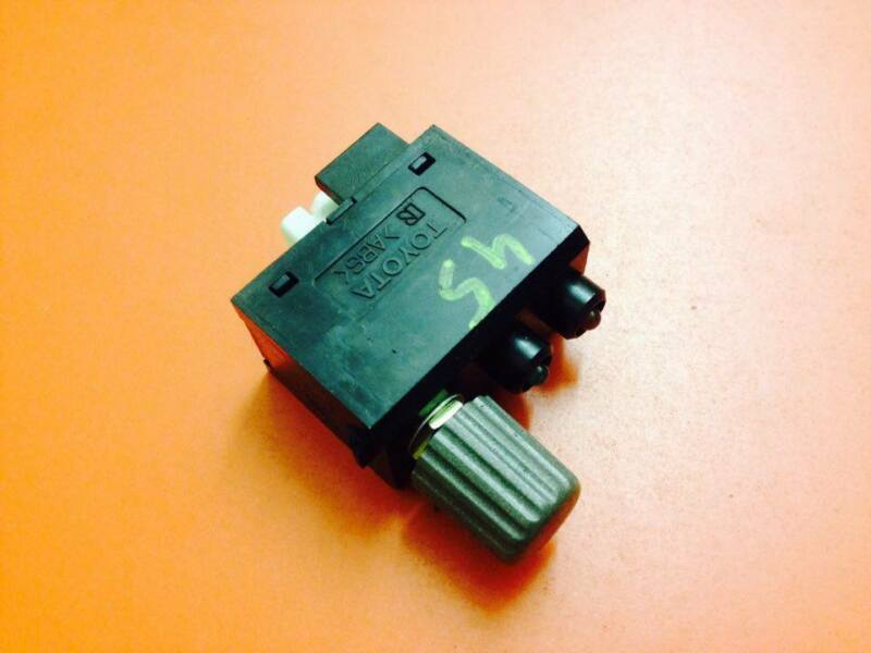 LEXUS LS430 2002 DASHBOARD DASH DIMMER SWITCH