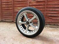 4 x 18 inch Bmw AC Schnitzer Type Alloy Wheels and Tyres..(e36, e39, e60, e46, 330, Mv2, M3, bbs)