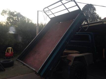 Complete Tipper Tray setup , Bolt On for patrol! Mount Helena Mundaring Area Preview