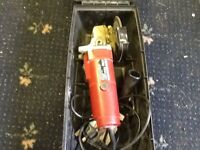 Power Devil Angle Grinder in box