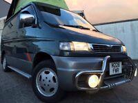 MAZDA BONGO AUTO FREE TOP 4WD LOW MILEAGE 69K TURBO DIESEL 4 BERTH CAMPER 8 SEATER MPV PX POSSIBLE