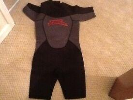 Boys wet suit - No Fear - age 9/10