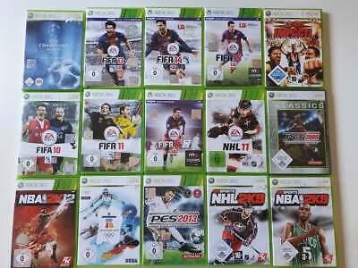 15 Xbox 360 Spiele - Spielepaket - Sammlung - Sport - Sportspiele