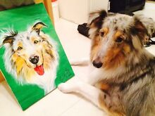 Get your dog painted! Neutral Bay North Sydney Area Preview