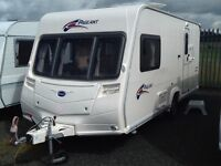 2007 Bailey parliament monarch 2 berth end changing room with fitted mover & awning