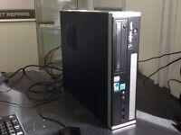 VERY FAST SLIM Desktop PC ( Intel i3 3.2 GHz, 4GB Ram, Windows 7 Professional) WARRANTY!