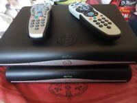 SKY+HD BOX + REMOTE CONTROL SKY BOX SKYBOX AND REMOTE