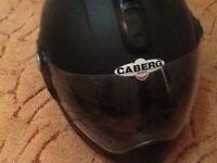 Caberg flip front size small Matt black helmet