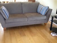 2X 3 seater sofas and large chair