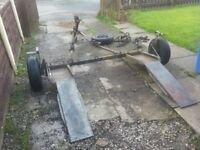 Intertrade Recovery Towing trailer dolly