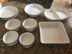 Serving dishes pie plates sold