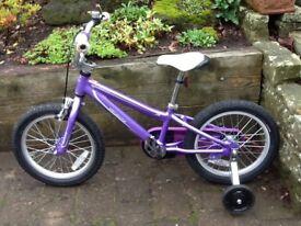 """Girls Specialised Hotrock 16"""" bike"""