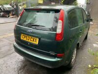 Ford Focus C-Max 2.0 Diesel Green 5DR BREAKING for spares