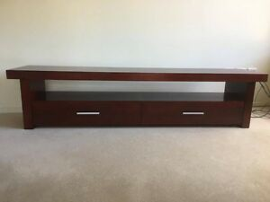 TV Cabinet - solid wood Burnside Burnside Area Preview